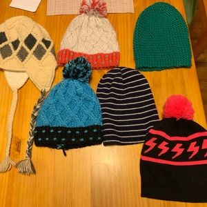 Other - A Bundle of Mixed Variety Winter Hats